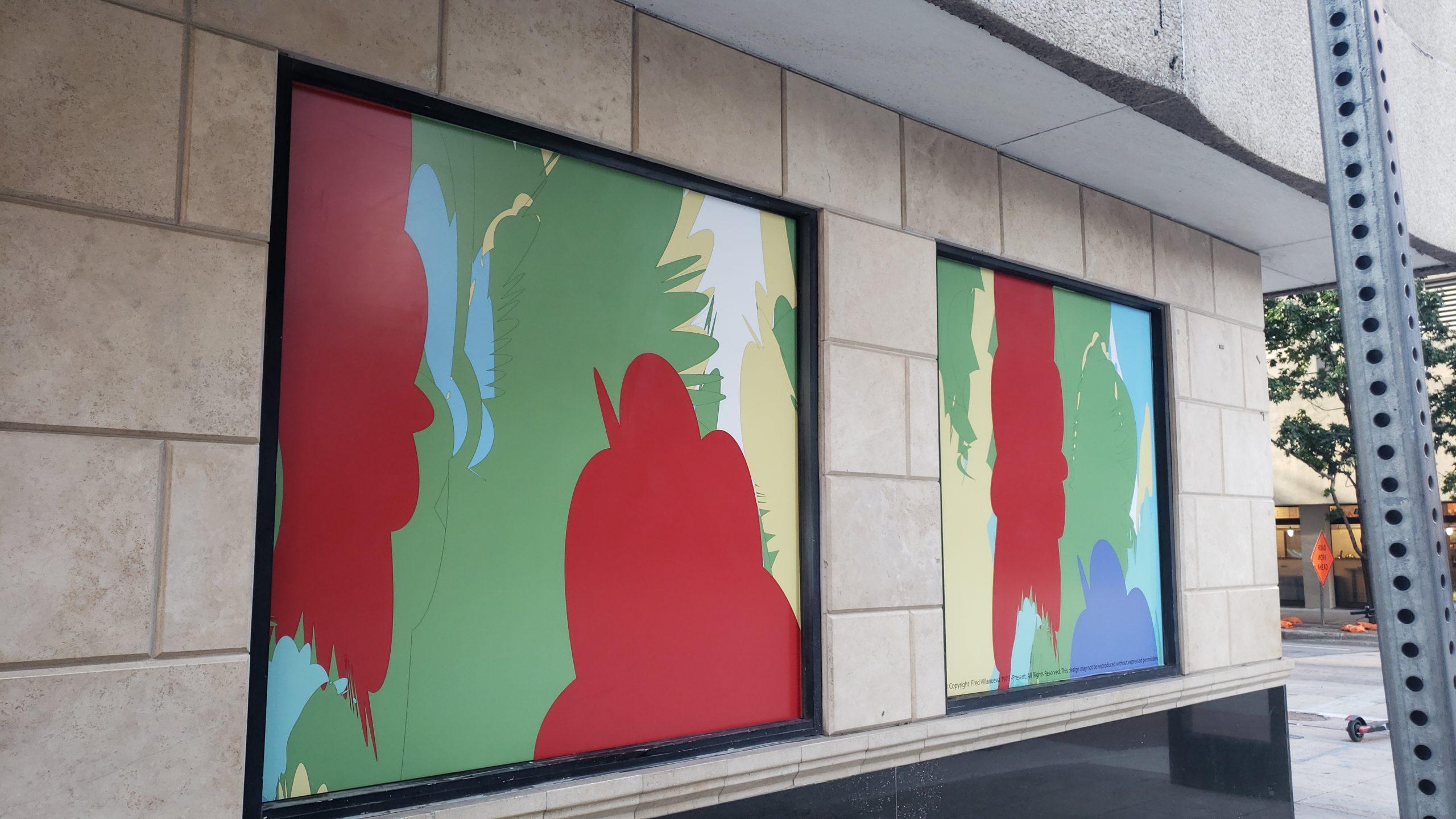 Public Abstract Art