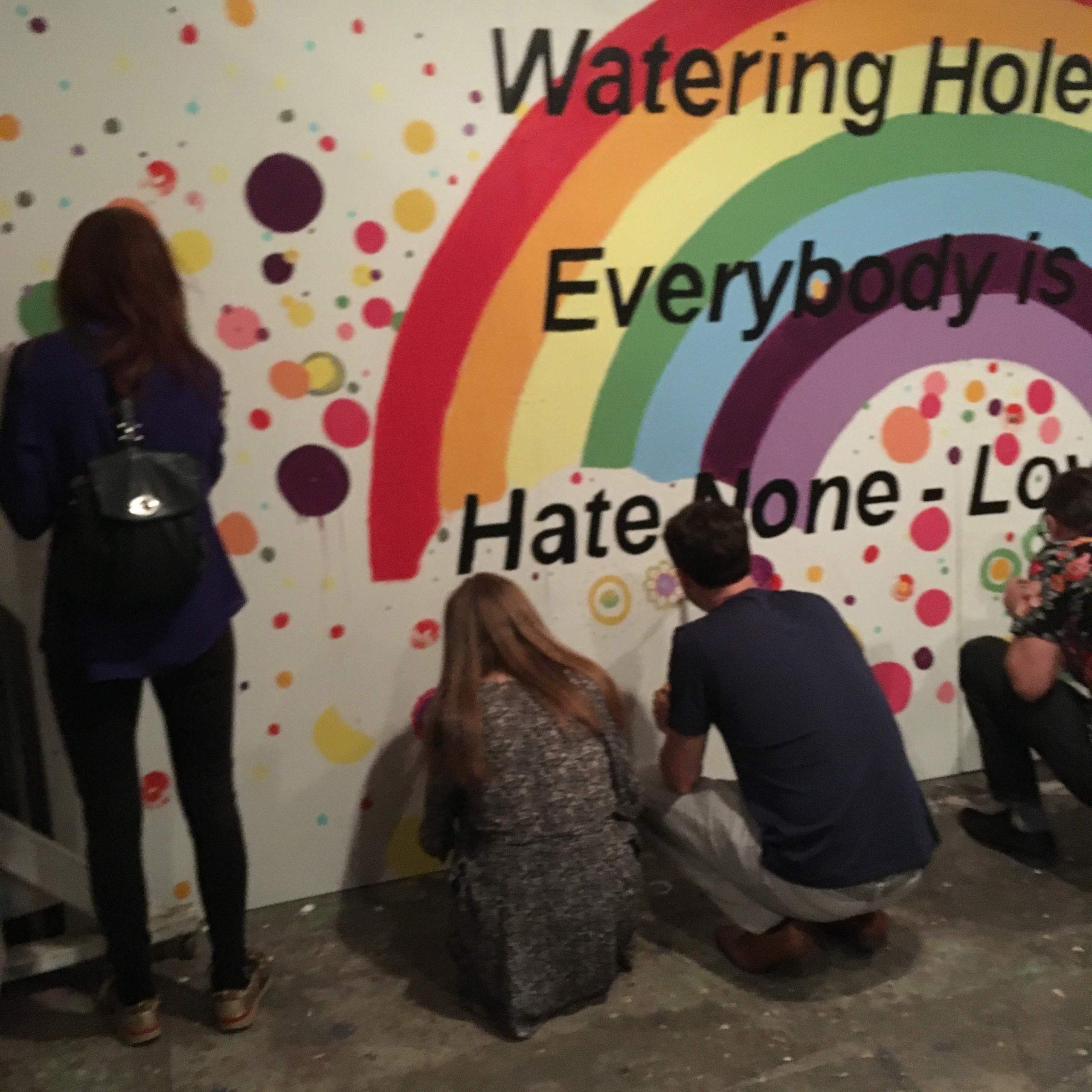 Hate None Public Art