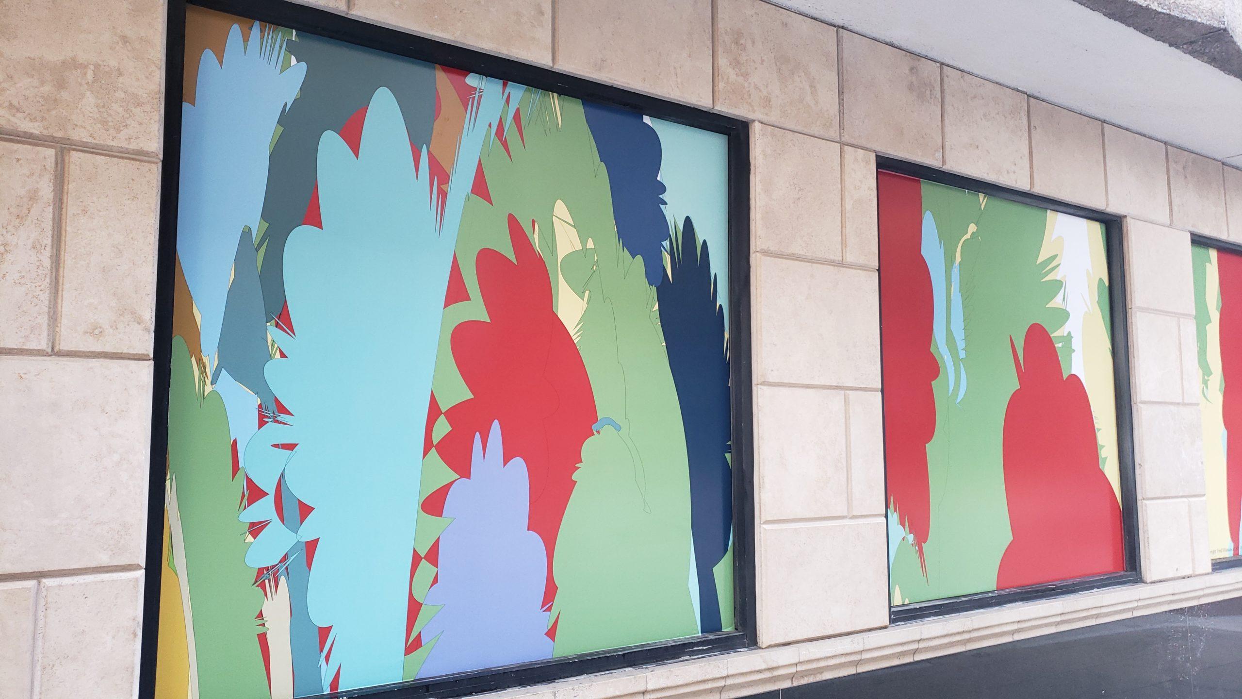 Abstract Window Art