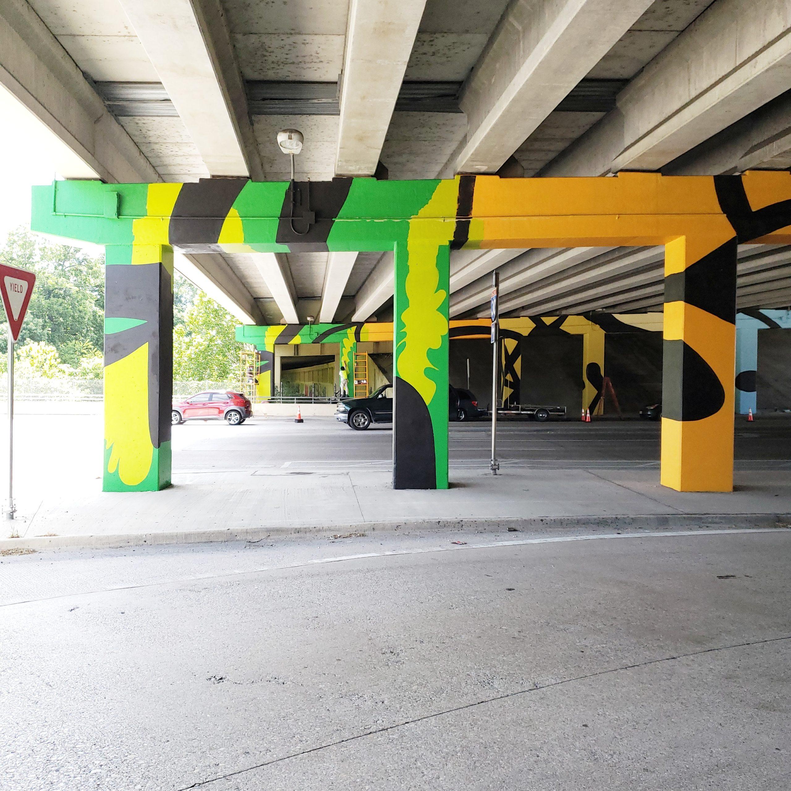 Sylvan Underpass Mural