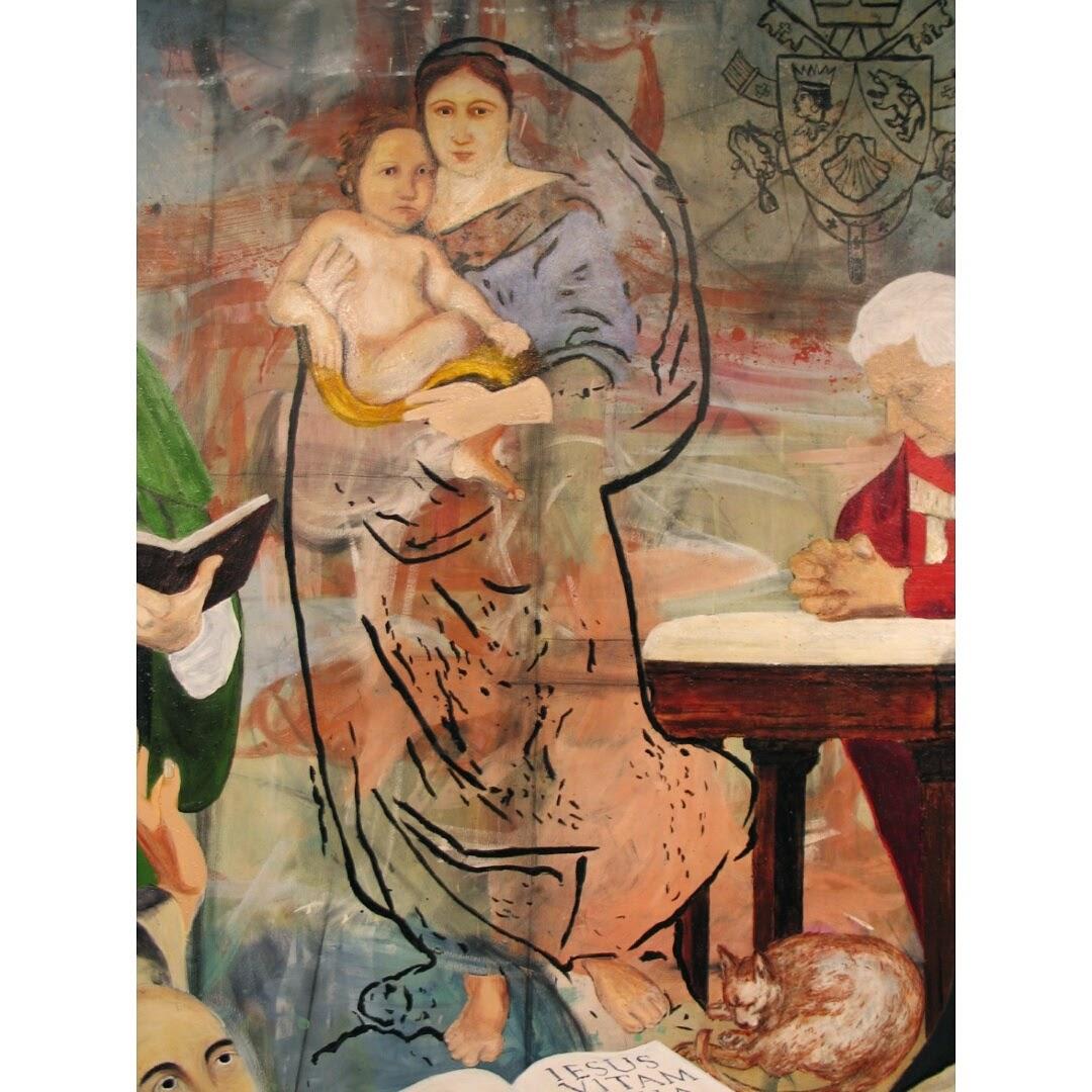 Sacred Mother of Jesus Mural
