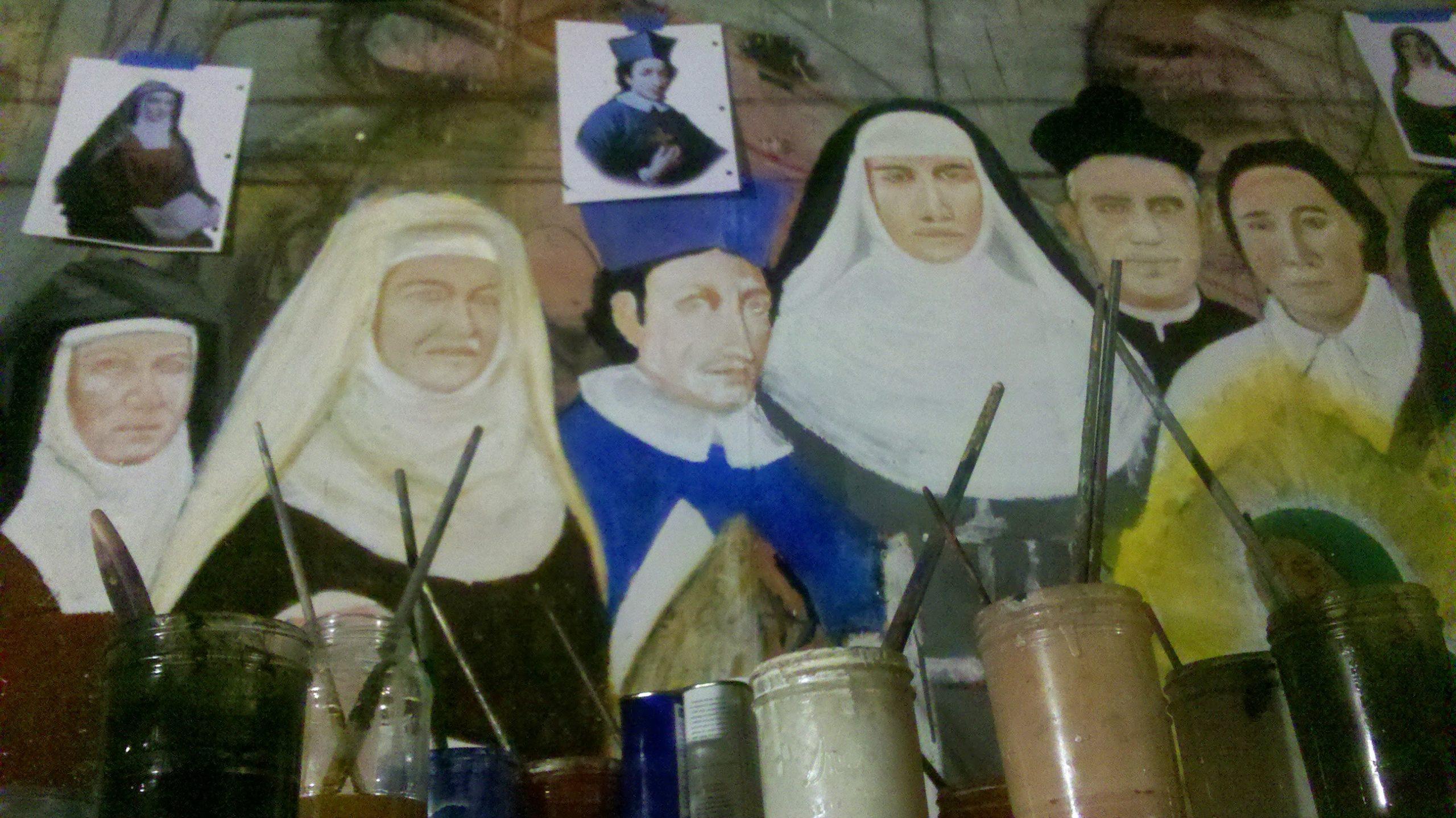 Sacred Historians Mural