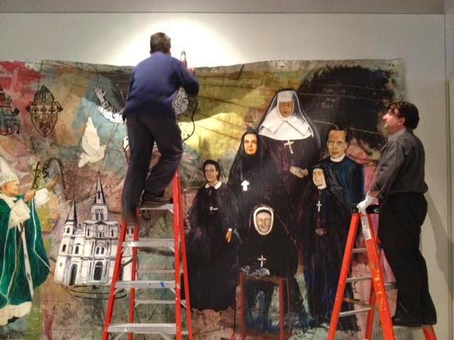 Sacred Mural Instillation