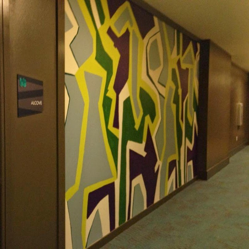 Complete Abstract Mural