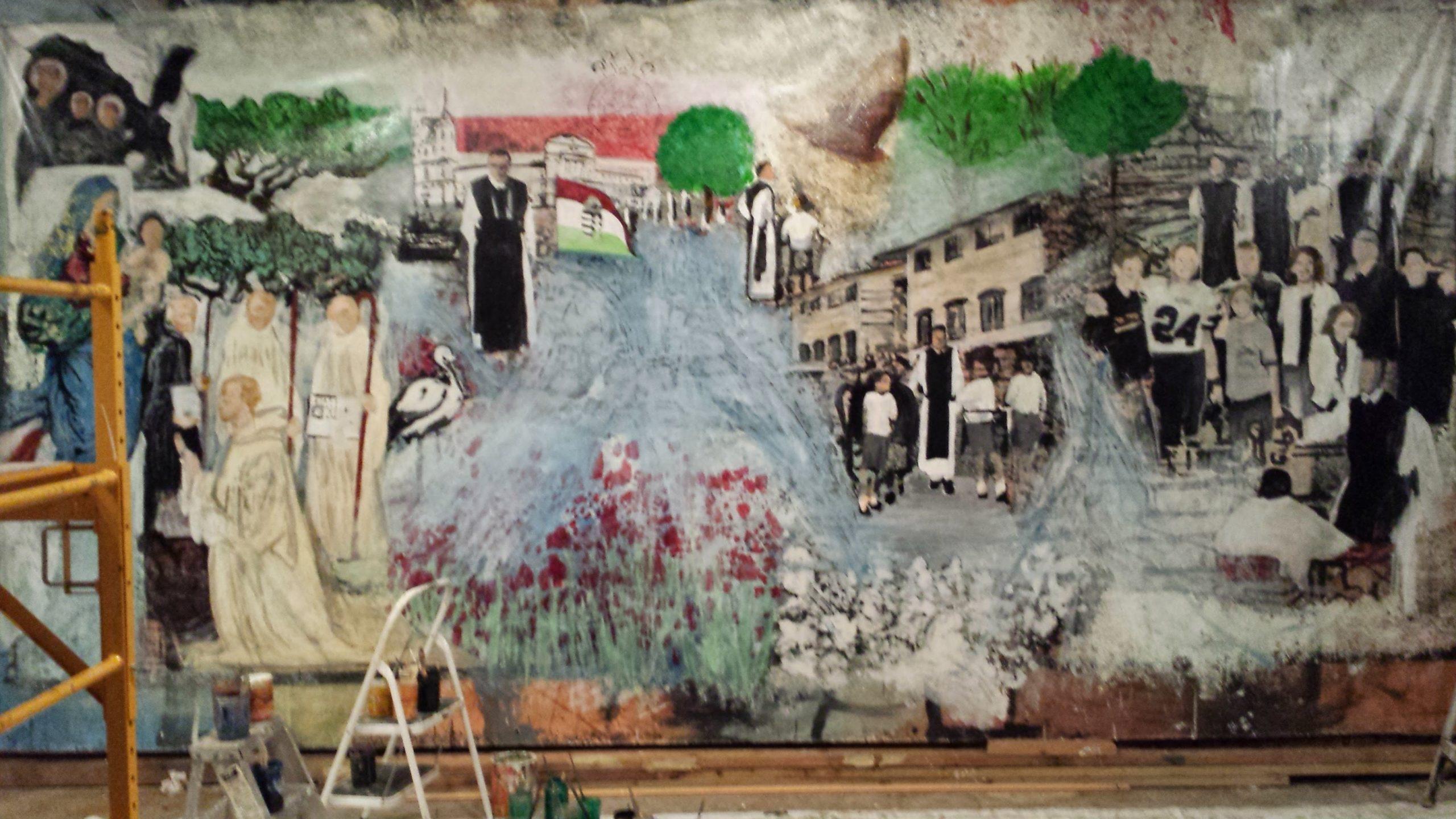 Sacred Wall Mural