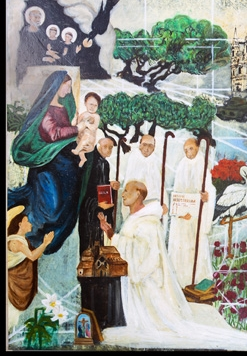 Sacred Virgin Mary Mural