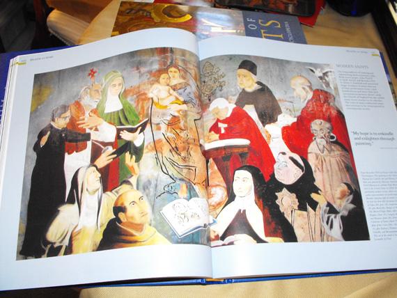 Sacred Mural Illustration