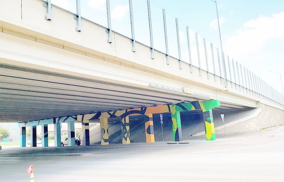 Texas Underpass Mural