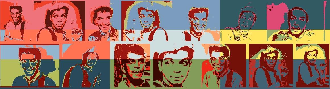 Cantinflas Multicolor Graphic Design
